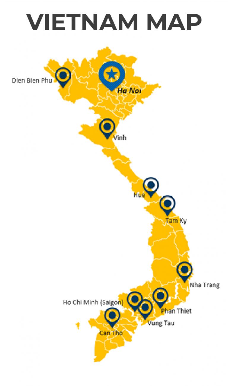 các tỉnh thành vận tải quốc vương nhận vận chuyển hàng.